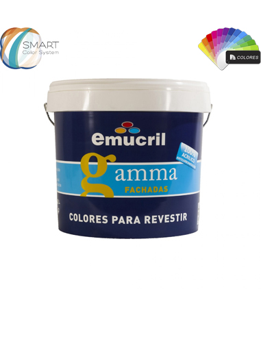 Revestimiento Emucril Gamma Fachadas Carta Color Itineris