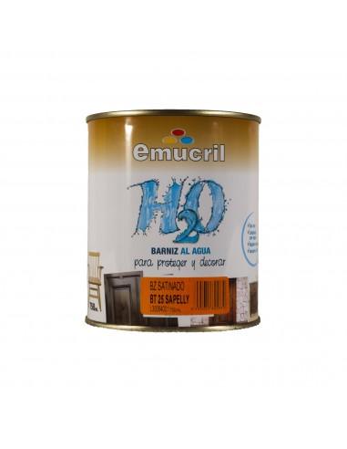 Barniz con Tinte Emucril H20 Satinado al Agua