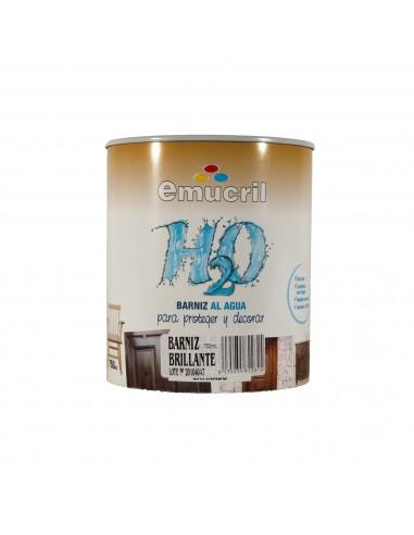 Barniz Incoloro Emucril H20 Brillante al Agua