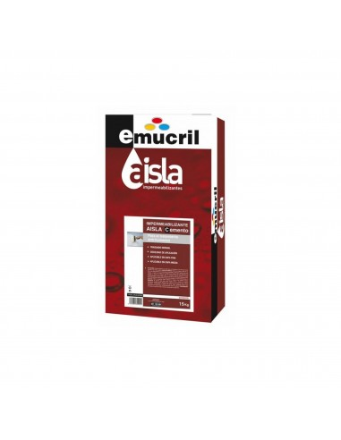 Impermeabilizante en Polvo Emucril Aisla Cemento