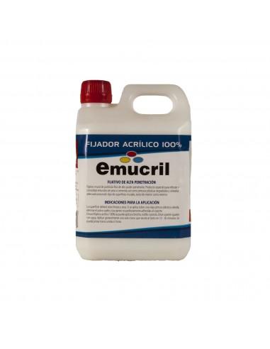 Imprimación Transparente Int/Ext Emucril Fijador Acrílico 100%