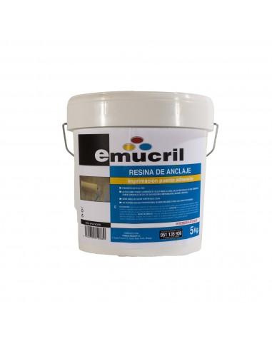Imprimación Emucril Resina de Anclaje Multisoporte Rugosa