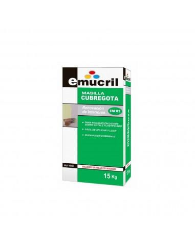 Masilla cubregotelé en polvo Emucril Cubregota EM01