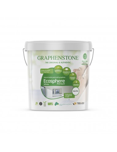 Pintura Blanca Ecológica Graphenstone Ecosphere Premium