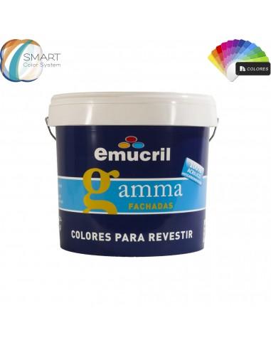 Revestimiento Emucril Gamma Fachada Elástico Carta Color Itineris