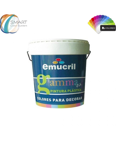 Pintura Color Carta Decoración NCS Mate Emucril Gamma