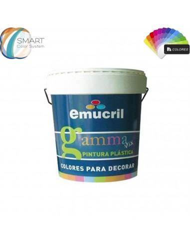 Pintura Color Carta Decoración Emucril Gamma Premium Mate