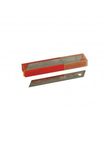 5 Hojas Acero Cuter 18mm. Rulo Pluma