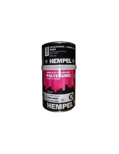 Esmalte para Fibra de Vidrio Hempel 55102 Polyenamel Blanco