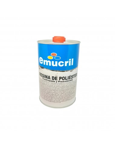 Resina Emucril Poliester+CAT