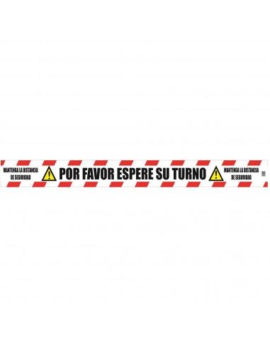 Señal Suelo Antideslizante Rojo Ferko F-30007MAK
