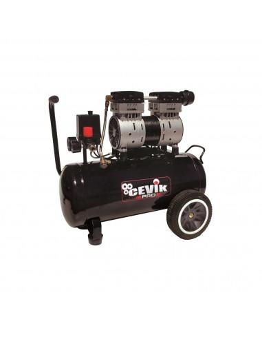 Compresor Silencioso 24L.1.5HP Cevik PRO CA-PRO24SILENC