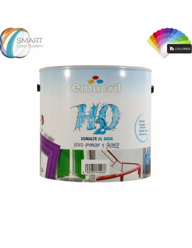 Esmalte Color al Agua Carta Decoración NCS Emucril H20 Satinado