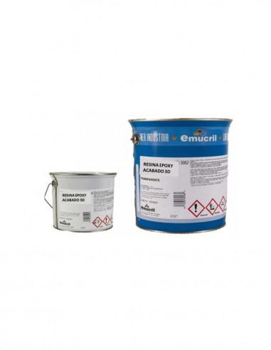 Resina Epoxi Acabado 3D Emucril
