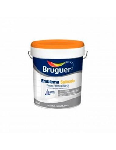 Pintura Blanca Satinada Bruguer Emblema Satinado