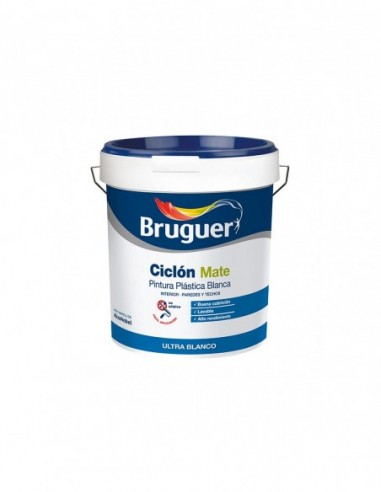 Pintura Blanca Interior Bruguer Ciclon Mate