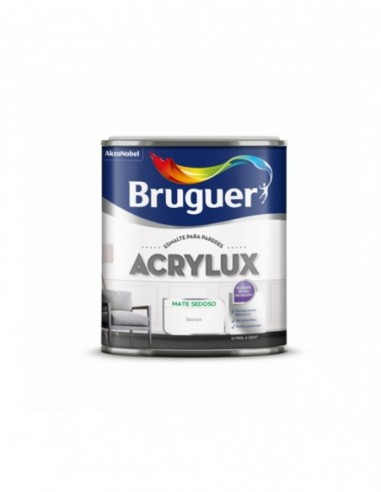 Esmalte al Agua Bruguer Acrylux Mate Sedoso