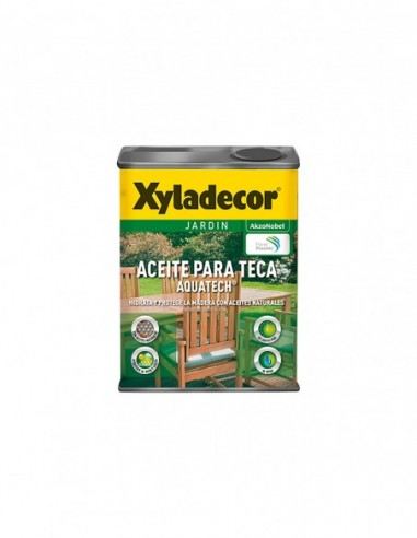 Aceite Teca Color Xyladecor Aquatech al Agua