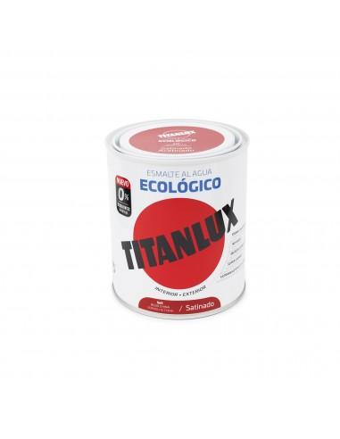 Esmalte Color al Agua Titanlux Ecológico Satinado