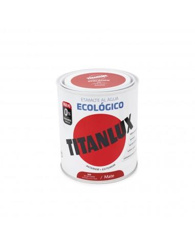 Esmalte Color al Agua Titanlux Ecológico Mate