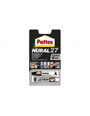 Adhesivo Pattex Soldadura Nural 27 Metal