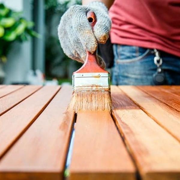 pintura para madera exterior