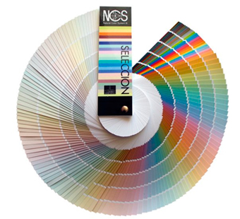 Carta de colores NCS Natural Color Sistem